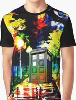 tardis starry night Graphic T-Shirt