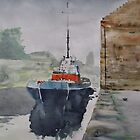 Annan Boat by Ross Macintyre