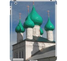 village church iPad Case/Skin