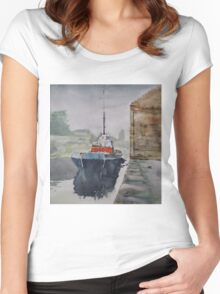 Annan Boat Women's Fitted Scoop T-Shirt
