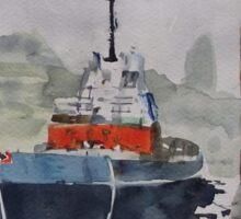 Annan Boat Sticker