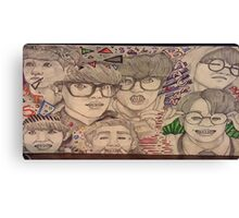 Bangtan Boys BTS KPOP Canvas Print