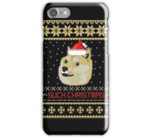 Such Christmas - Christmas Sweater Fun iPhone Case/Skin