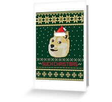 Such Christmas - Christmas Sweater Fun Greeting Card