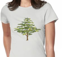 Heron Tree Womens Fitted T-Shirt