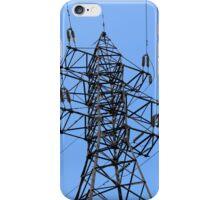 electricity pylon power line iPhone Case/Skin