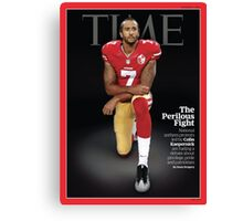 Colin Kaepernick Time Cover Canvas Print