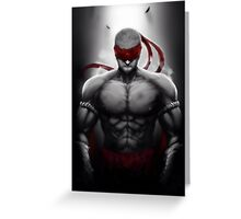 Lee Sin - League of Legends Greeting Card