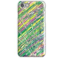Light Streams in concentric circles iPhone Case/Skin