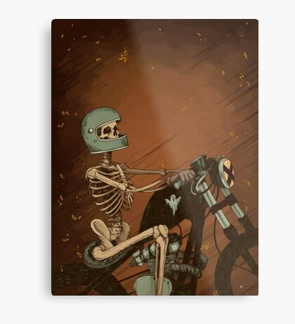 Spook Night Rider Metal Print
