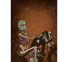 Spook Night Rider Photographic Print