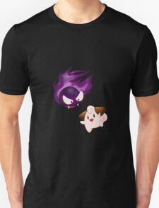 Gastly and Cleffa Unisex T-Shirt