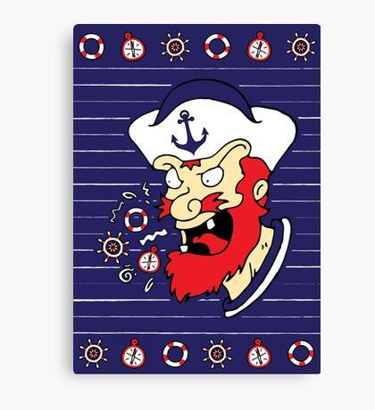 Cussin Sailor Canvas Print