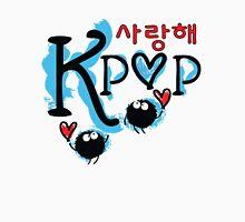 sarang hae KPOP typo Women's Fitted V-Neck T-Shirt