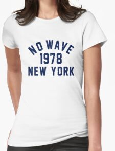 No Wave Womens Fitted T-Shirt
