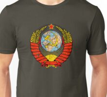Soviet Coat of Arms - distressed look Unisex T-Shirt