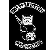 Sons of Adventure Time Anarchy Mathematical Jake Finn Photographic Print