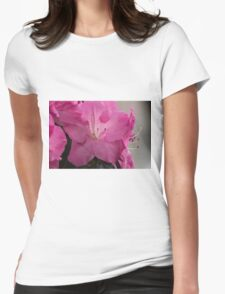 peony in spring Womens Fitted T-Shirt