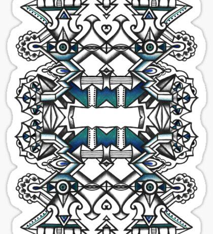 SYMMETRY - Design 011 (Color) Sticker