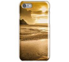 Three Cliffs Bay Gower iPhone Case/Skin