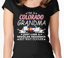 I'm a Colorado Grandma Women's Fitted Scoop T-Shirt