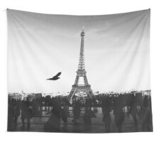 Paris Without Emotion #redbubble #home #decor #tech Wall Tapestry