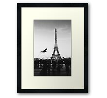 Paris Without Emotion #redbubble #home #decor #tech Framed Print