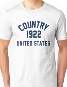 Country Unisex T-Shirt