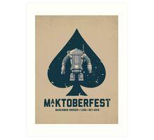 Ma.Ktoberfest Art Print