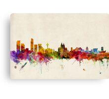 Liverpool England Skyline Canvas Print