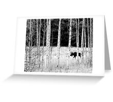 Wandering Moose Greeting Card