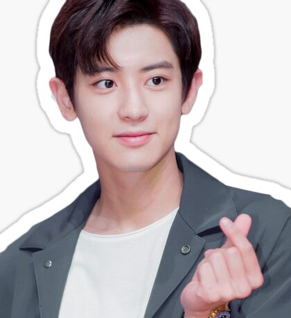Chanyeol hearteu Sticker