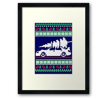 Chrismas Holiday Coming Soon Framed Print