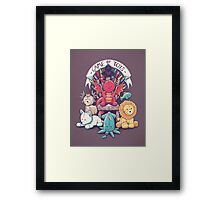 Game Of Toys Framed Print