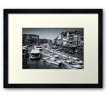 Grand canal Venice Italy Framed Print