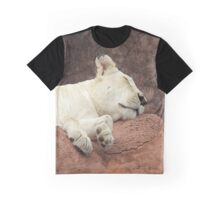 Sleepy lion Graphic T-Shirt