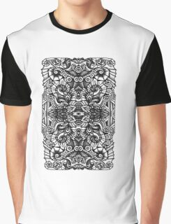 SYMMETRY - Design 012 (B/W) Graphic T-Shirt