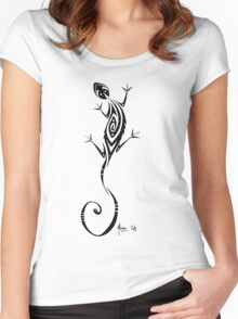 Gecko's Design Women's Fitted Scoop T-Shirt
