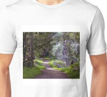 Going Down The Wandering Path Unisex T-Shirt