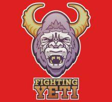 Fighting Yeti Sports Logo Baby Tee