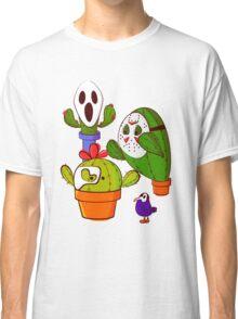 Cacti and masks Classic T-Shirt