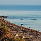 Walking on along the coast by jchanders