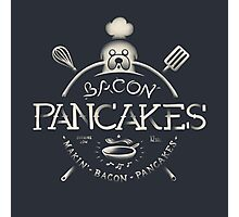 Bacon Pancakes Photographic Print
