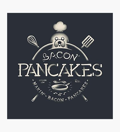 Bacon Pancakes Photographic Print