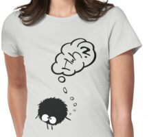 Huh? Womens Fitted T-Shirt