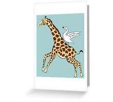 Neck Yes Greeting Card