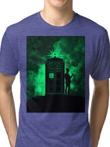 tardis doctor who Tri-blend T-Shirt