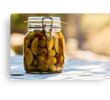 Pickled Olives Metal Print