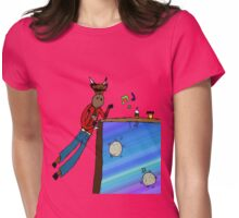 Celebrity Bull Womens Fitted T-Shirt