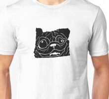 Oregon Pug Unisex T-Shirt